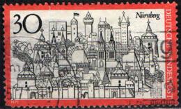 GERMANIA - 1971 - VEDUTA DI NORIMBERGA - USATO - [7] Repubblica Federale