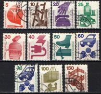 GERMANIA - 1971 - PREVENZIONE DEGLI INFORTUNI - USATI - [7] Repubblica Federale