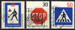 GERMANIA - 1971 - NUOVE NORME DI CIRCOLAZIONE STRADALE - USATI - [7] Repubblica Federale