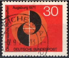 GERMANIA - 1971 - CONFERENZA ECUMENICA PENTECOSTALE AD AUGUSTA - USATO - [7] Repubblica Federale