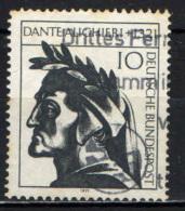 GERMANIA - 1971 - 650° ANNIVERSARIO DELLA MORTE DI DANTE ALIGHIERI - USATO - [7] Repubblica Federale