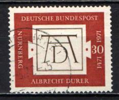 GERMANIA - 1971 - 5° CENTENARIO DELLA NASCITA DI ALBRECHT DURER - PITTORE - USATO - [7] Repubblica Federale