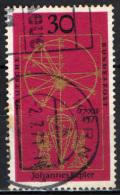 GERMANIA - 1971 - 4° CENTENARIO DELLA NASCITA DI GIOVANNI KEPLERO - USATO - [7] Repubblica Federale