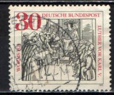GERMANIA - 1971 - 450° ANNIVERSARIO DELLA DIETA DI WRMS - USATO - [7] Repubblica Federale