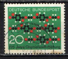 GERMANIA - 1971 - 125° ANNIVERSARIO DELLE RICERCHE SULLE FIBRE CHIMICHE - USATO - [7] Repubblica Federale