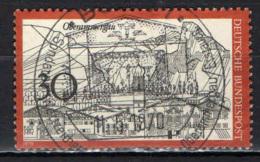 GERMANIA - 1970 - VEDUTA DI OBERAMMERGAU - USATO - [7] Repubblica Federale