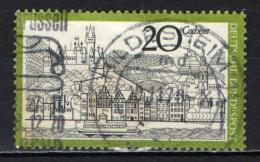 GERMANIA - 1970 - VEDUTA DI COCHEM - USATO - [7] Repubblica Federale