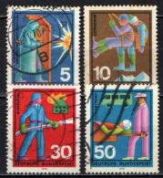 GERMANIA - 1970 - SERVIZI DEL SOCCORSO VOLONTARIO - USATI - [7] Repubblica Federale