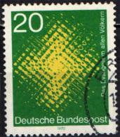 GERMANIA - 1970 - MISSIONE MONDIALE DELLA CHIESA CATTOLICA - USATO - [7] Repubblica Federale