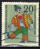 GERMANIA - 1970 - HANSWURST - MARIONETTA - USATO - [7] Repubblica Federale