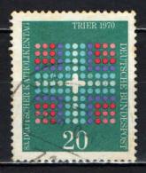 GERMANIA - 1970 - 83^ GIORNATA CATTOLICA TEDESCA A TRIER - USATO - [7] Repubblica Federale