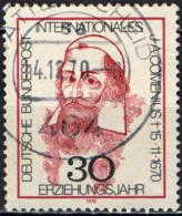 GERMANIA - 1970 - 3° CENTENARIO DELLA MORTE DI J. A. COMENIUS - PEDAGOGISTA CECO - USATO - [7] Repubblica Federale