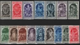 Italia Regno 1934 Sass.350/56+A */MLH VF/F - 1900-44 Vittorio Emanuele III