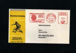 Germany 1974 World Football Champioship In Germany Interesting Cover - Coppa Del Mondo