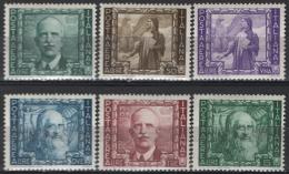 Italia Regno 1938 Sass.A111/16 **/MNH VF - 1900-44 Vittorio Emanuele III