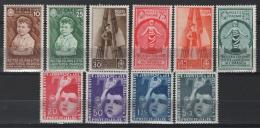 Italia Regno 1937 Sass.406/15 **/MNH VF - 1900-44 Vittorio Emanuele III