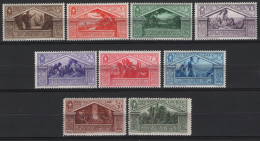 Italia Regno 1930 Sass.282/90 **/MNH VF/F - 1900-44 Vittorio Emanuele III