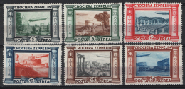 Italia Regno 1933 Sass.A45/50 **/MNH VF - Posta Aerea
