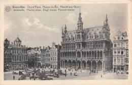 BRUXELLES - Grand'Place - Maison Du Roi - Marché Aux Fleurs - Markten
