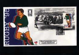 South Africa 1995  Rugby Interesting Cover - Rugby