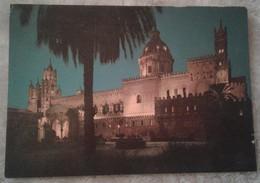Palermo - La Cattedrale Vista Di Notte - Palermo