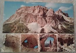 Monte Lagazuoi - Rifugio - Tracciato E Particolari Della Galleria Italiana Guerra - Vedute - Belluno