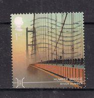 GB 2015 QE2 1st Class Bridges 'Humber Bridge' Used Stamp  SG 3695  ( G765 ) - 1952-.... (Elizabeth II)
