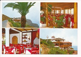 Carte ( Format 15 X 10 Cm )  La Gomera  Restaurante Las Rosas - Gomera