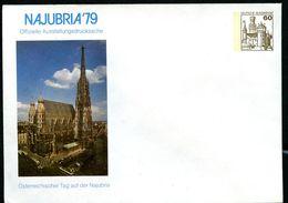 Bund PU114 C1/004 Privat-Umschlag STEPHANSDOM WIEN Leverkusen 1979 - Sobres Privados - Nuevos