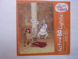 Festival BD Lagrasse - Dessin David RATTE - Fumetti