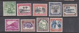 Samoa SG 180-188 1935 Definitives Mint Hinged - Samoa