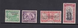 Samoa SG 215-218 1946 Peace ,used - Samoa