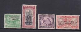 Samoa SG 215-218 1946 Peace Mint Hinged - Samoa
