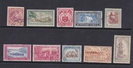 Samoa SG 219-228 1952 Definitives Used - Samoa