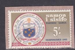 Samoa SG 248 1962 Independence,Five Shillings, Used - Samoa