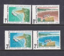 Samoa SG 265-268 1966 Opening Of First Deep Sea Wharf,mint Hinged - Samoa