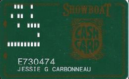 Showboat Casino - Atlantic City NJ / Slot Card / SC On Reverse - Casino Cards