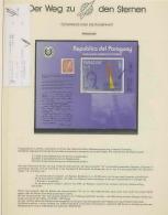 1199/ Espace (space)  Neuf ** MNH Paraguay - Bloc 1984 Friedrich Schmiedl  Overprint Surchargé Muestra - Space