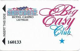Showboat Casino - Las Vegas, NV - TEMP Big Easy Club Slot Card - No Comma In PPC - Casino Cards