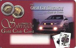 Silverado Casino - Deadwood SD - BLANK Slot Card - Casino Cards
