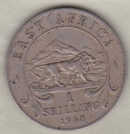 East Africa  1 Shilling 1948 George VI . KM# 31 - Monedas