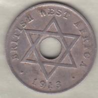 British West Africa  1 Penny 1913 George V . KM# 9 - Monedas