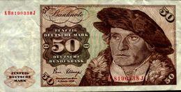 BILLET DE BANQUE.. ALLEMAGNE  50 - Germany