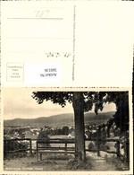 560136,Foto Ak Mittelwalde Międzylesie Bank Baum Ansicht Dorf - Polen