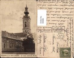 560486,Hungary Homokos G. K. Szerb Templom Gr. Orient Serbische Kirche Szerbia - Serbien