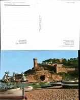 559013,Spain Tossa Costa Brava Playa Detalle Strand Festung - Spanien