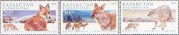 Kazakhstan 1999. Beasts Of Prey. Wolves. Fauna. Animals. - Kazakhstan