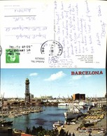 560629,Spain Barcelona Detall Del Port Detail Of The Harbour Hafenansicht Schiffe Boo - Spanien