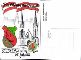 561331,Studentika Studentica KÖStV Hohensalzburg St Johann Wappen - Schulen