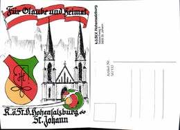 561332,Studentika Studentica KÖStV Hohensalzburg St Johann Wappen - Schulen